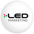 Logo LED Marketing